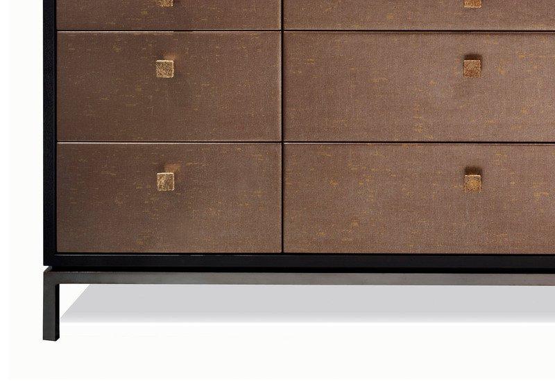 Woodrow chest of drawers black and key treniq 3