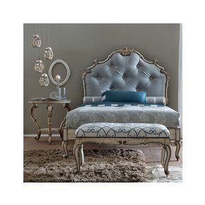 Classic High End Italian Designer Button Upholstered Bed - Juliette's Interiors - Treniq