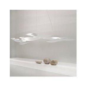 Contemporary White Metal Pendant Light - Jennifer Manners - Treniq