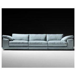 Large Linen Designer Modular Sofa - Jennifer Manners - Treniq