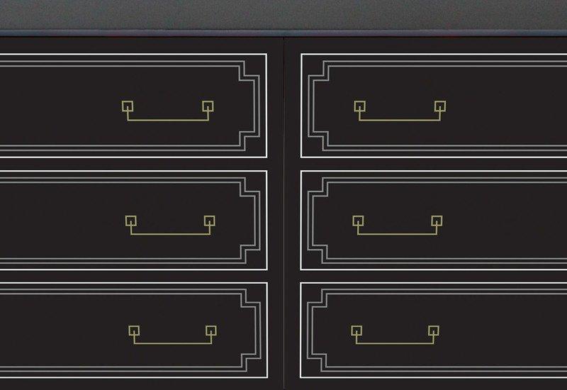 Georgian chest of drawers esbe design treniq 5