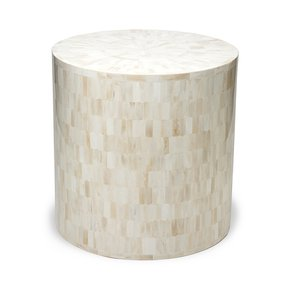 Serenity Horn End Table Stool - Farrago - Treniq