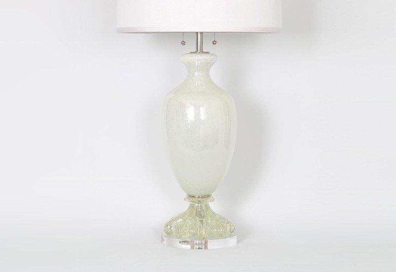 Large pearl white with silver by seguso sergio jaeger treniq 3