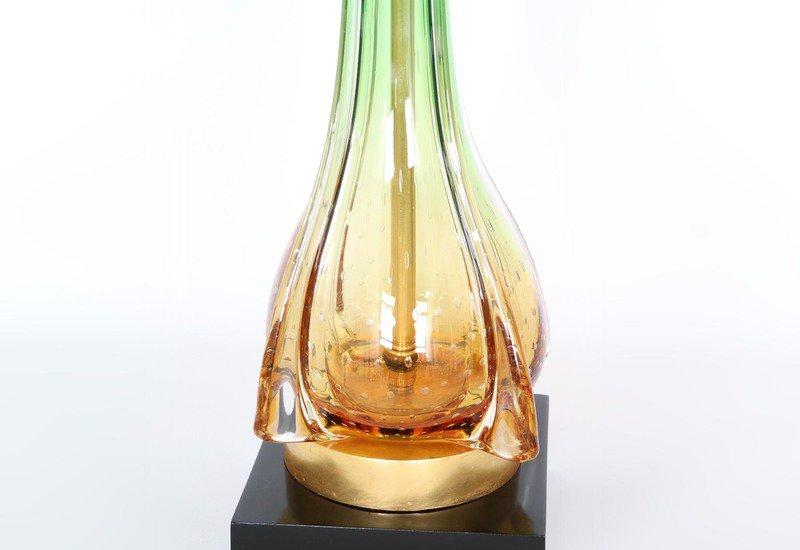Murano green and gold lamps sergio jaeger treniq 7
