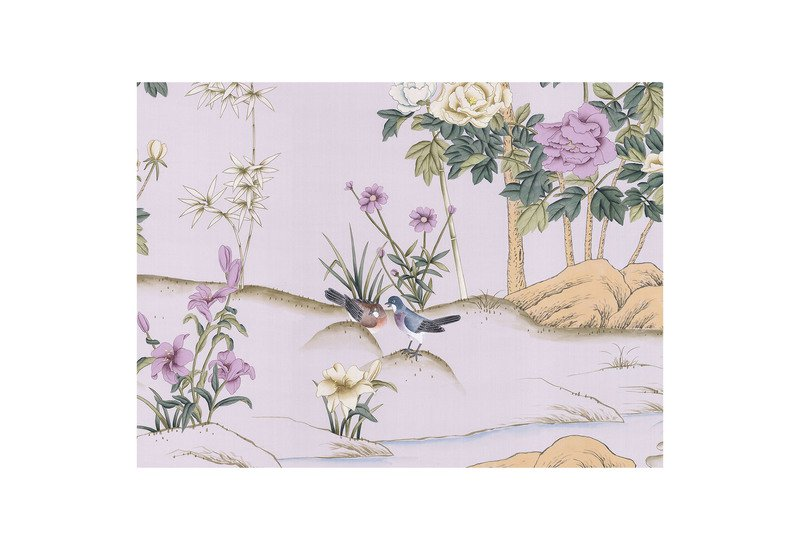 Imperial garden panel mural sources treniq 1