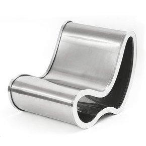 Steel Armchair - Fernando Poggio - Treniq
