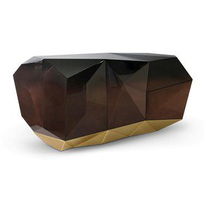 Diamond Chocolate Sideboard - Boca do Lobo - Treniq