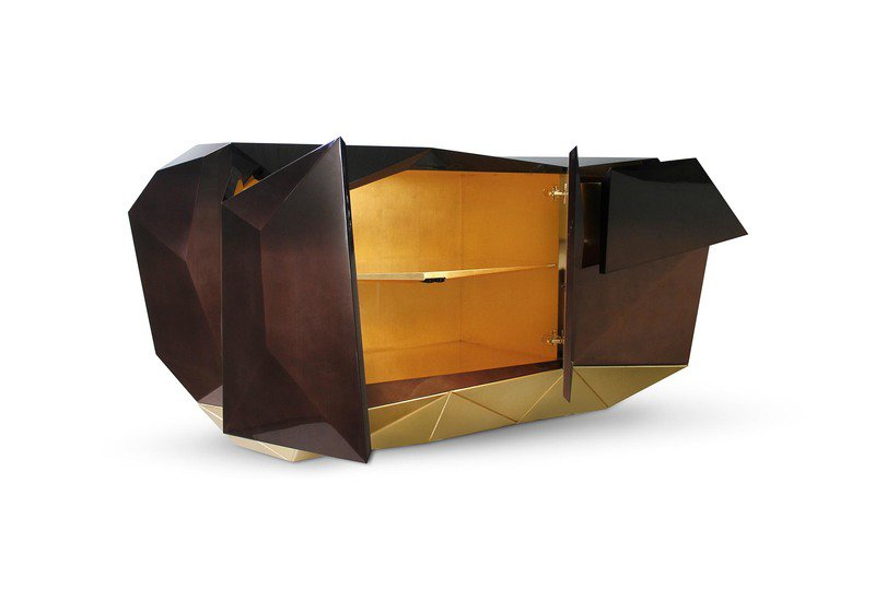Diamond chocolate sideboard boca do lobo treniq 5