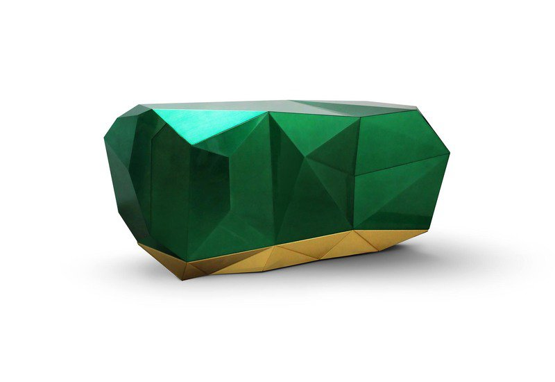 Diamond emerald sideboard boca do lobo treniq 1