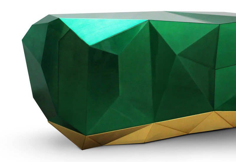 Diamond emerald sideboard boca do lobo treniq 2