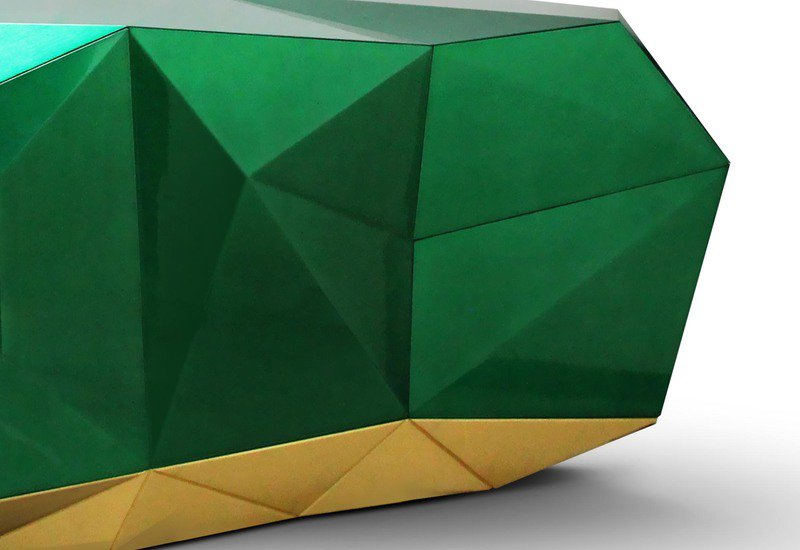 Diamond emerald sideboard boca do lobo treniq 3