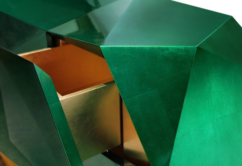 Diamond emerald sideboard boca do lobo treniq 4