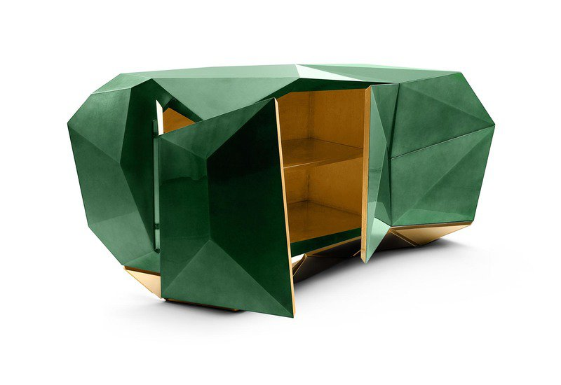 Diamond emerald sideboard boca do lobo treniq 5