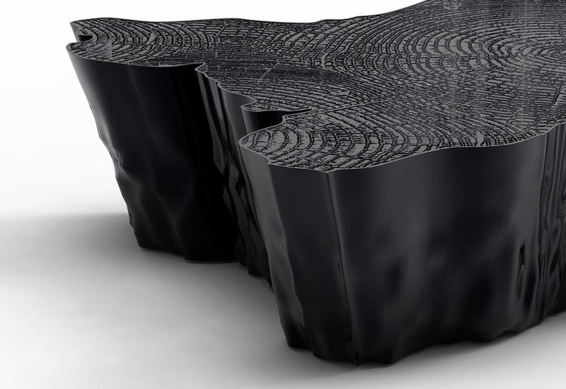 Eden black coffee table boca do lobo treniq 2
