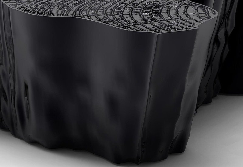 Eden black coffee table boca do lobo treniq 4