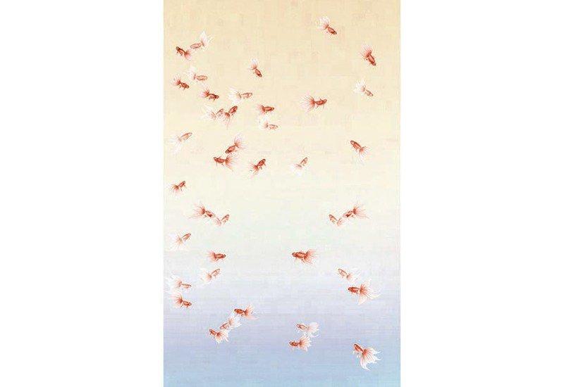 Golden fish wallpaper david qian treniq 1