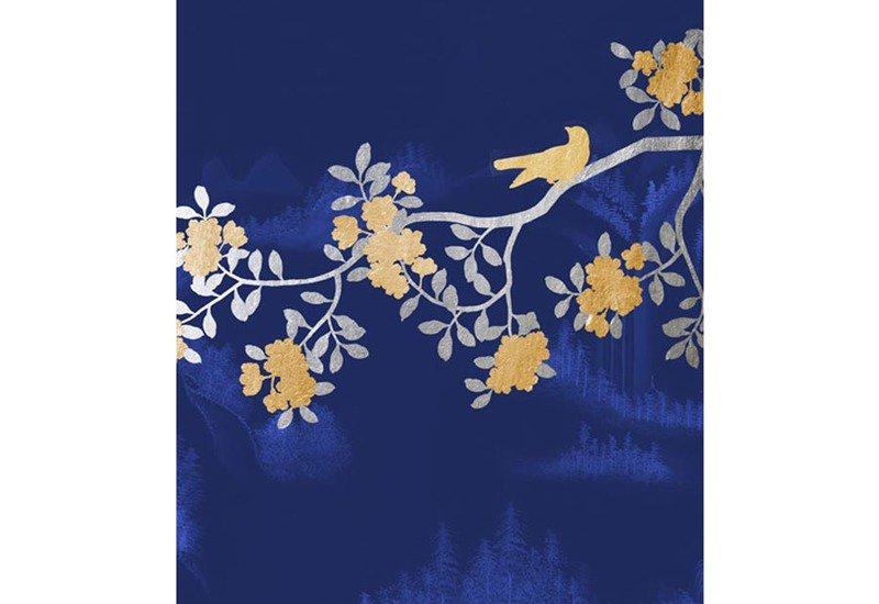 Peach blossom colony wallpaper david qian treniq 2
