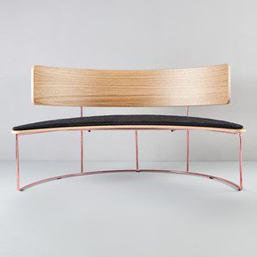 Boomerang Bench - Missana - Treniq