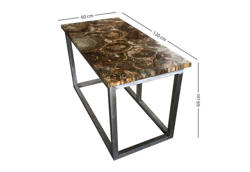 Fossil wood table hurley treniq 6