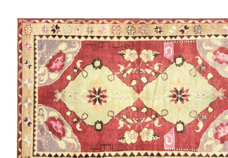 Anatolian oushak rug vintage ii nalbandian treniq 3