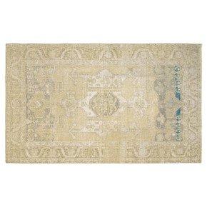 Distressed Vintage Turkish Anatolian Rug - Nalbadian - Treniq