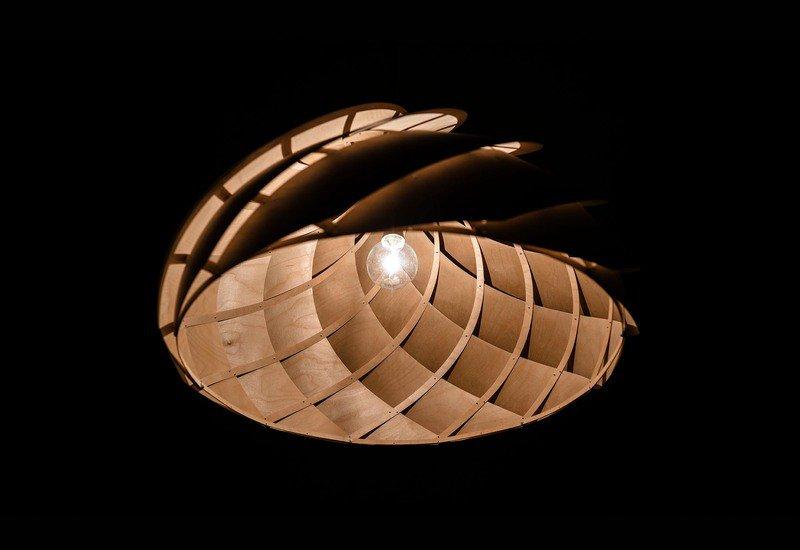 Nautilus ceiling lamp jaanus orgusaar treniq 4
