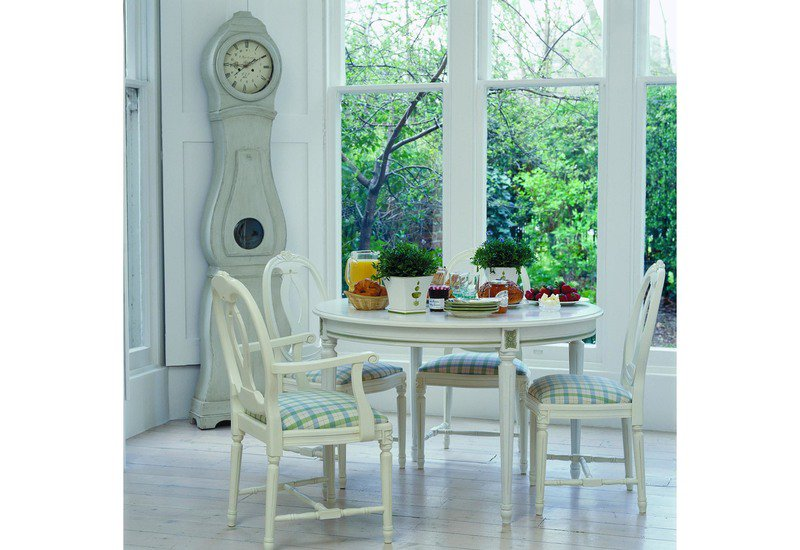 Bellman dining table gustavian treniq 4