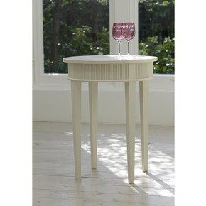 Kristane Round Side Table  - Gustavian - Treniq