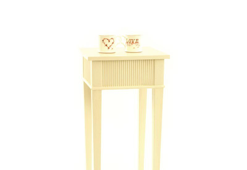 Kristane squar side table gustavian treniq 2