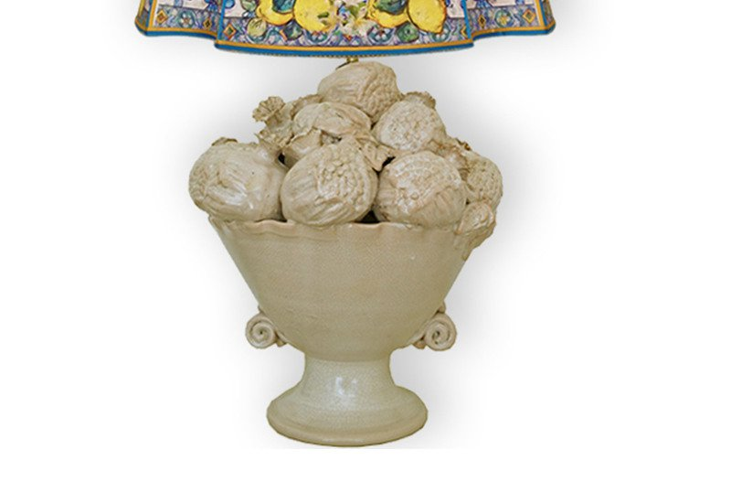 Cesto di melograni table lamp sicily home collection treniq 3