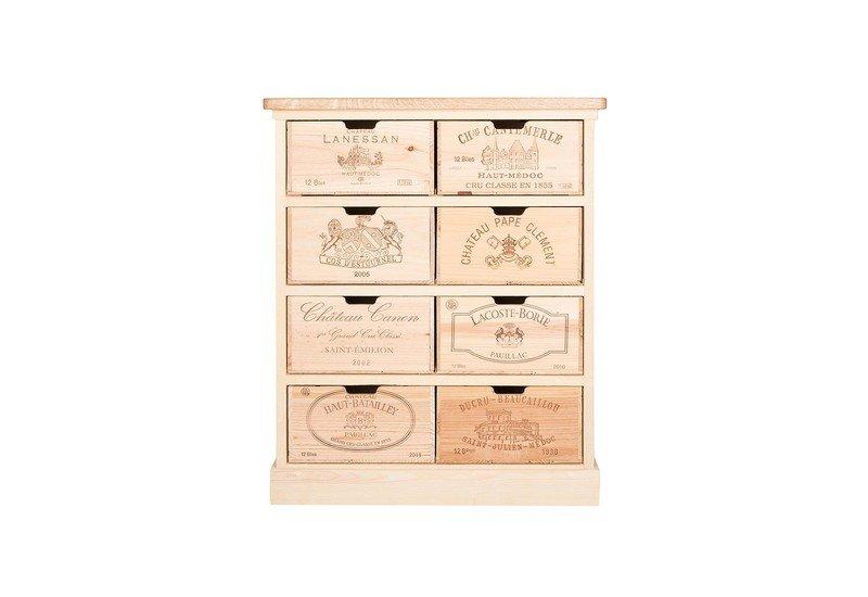 Chest of drawers bois rustique treniq 2