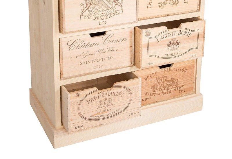 Chest of drawers bois rustique treniq 4