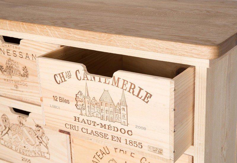 Chest of drawers bois rustique treniq 5