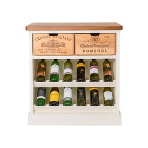 Wine Rack I - Bois Rustique - Treniq