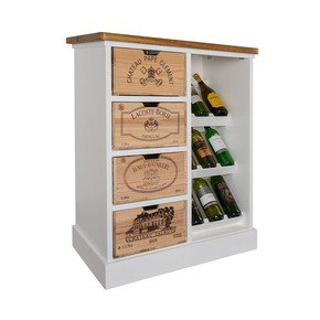 Wine Rack II - Bois Rustique - Treniq