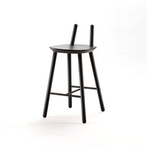 Naive Semi Bar Stool - Emko - Treniq
