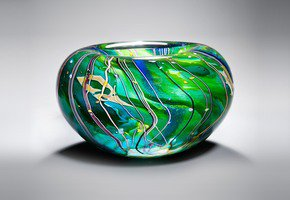 Arrival of Spring Bowl - London Glassblowing - Treniq