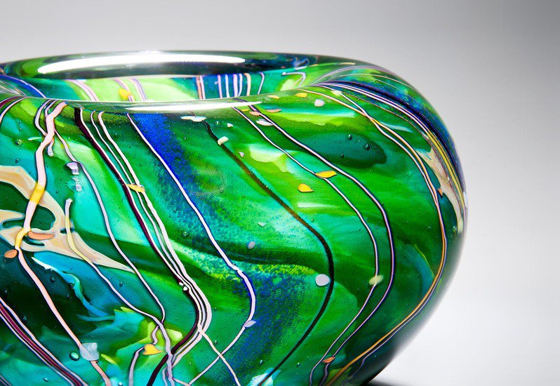 Arrival of spring bowl london glassblowing treniq 3