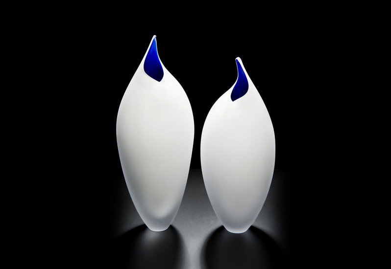 Birds vase london glassblowing treniq 1