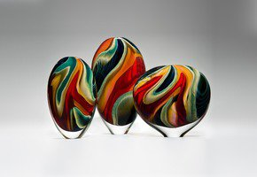 Black Paradiso Sculpture - London Glassblowing - Treniq