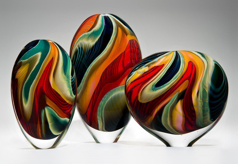 Black paradiso sculpture london glassblowing treniq 2