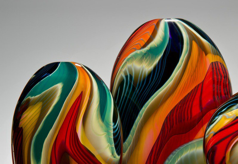 Black paradiso sculpture london glassblowing treniq 3