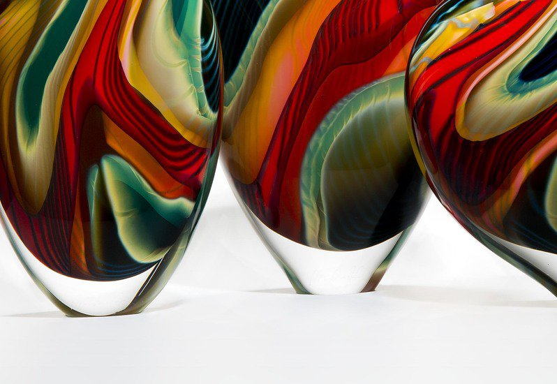 Black paradiso sculpture london glassblowing treniq 6
