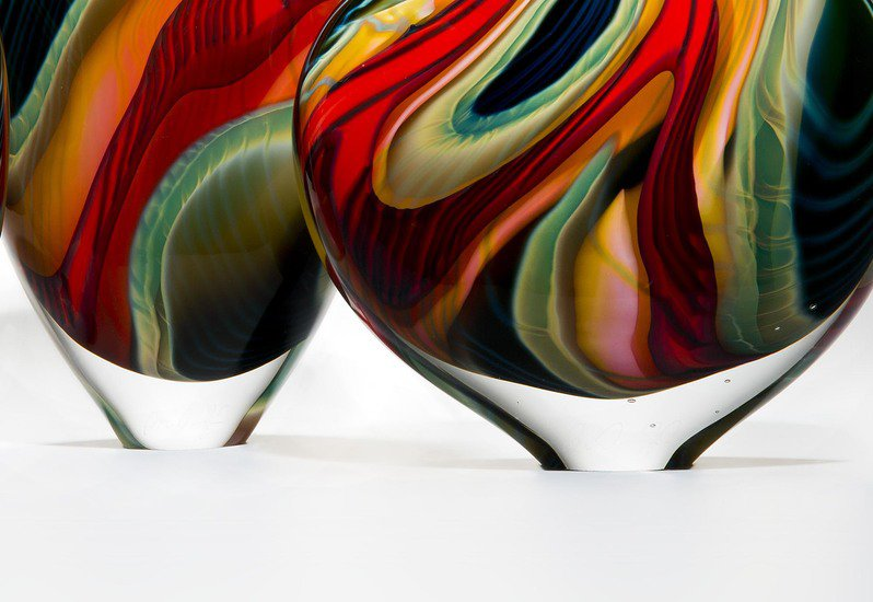 Black paradiso sculpture london glassblowing treniq 7