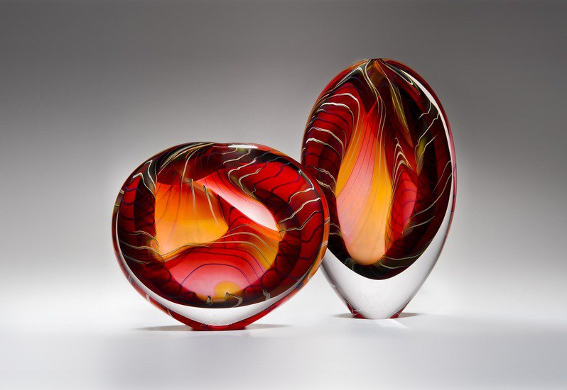 Canyon sculpture london glassblowing treniq 1