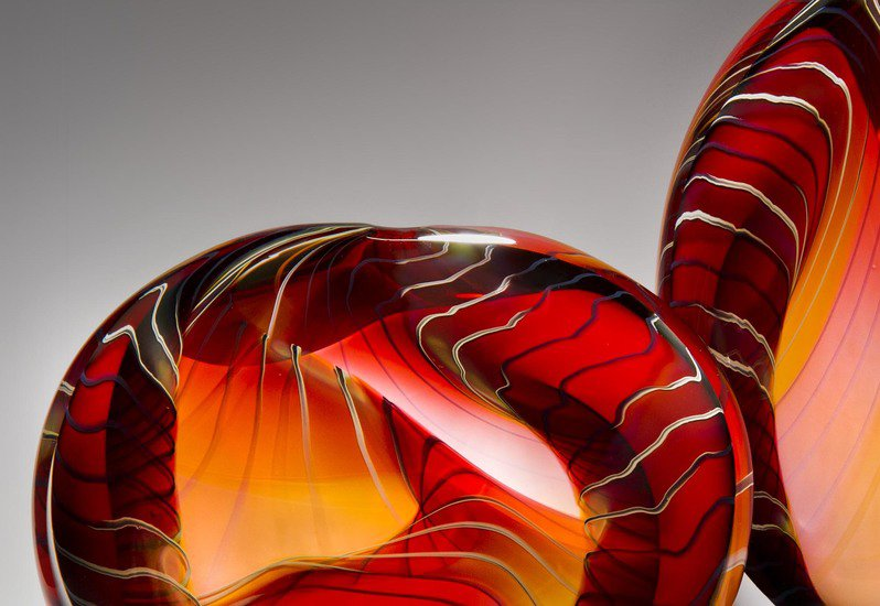 Canyon sculpture london glassblowing treniq 2