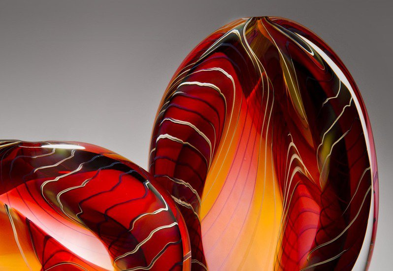 Canyon sculpture london glassblowing treniq 3