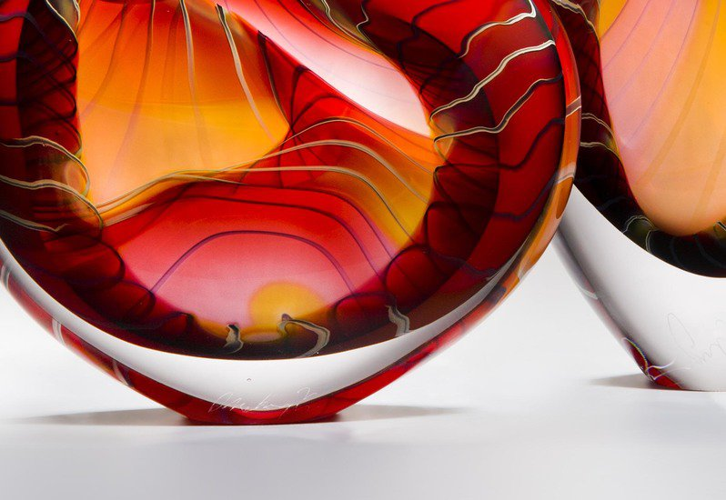 Canyon sculpture london glassblowing treniq 4