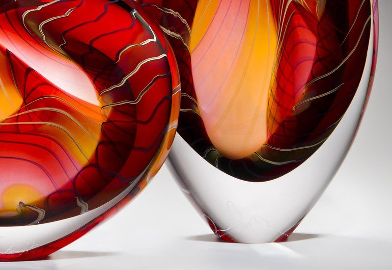 Canyon sculpture london glassblowing treniq 5