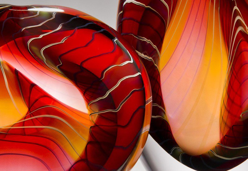 Canyon sculpture london glassblowing treniq 6